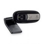 Logitech Webcam C170 Webcam 5 megapixel USB con microfono integrato, Compatibile con Skype/MSN/Facebook