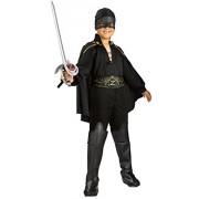 Rubie's IT882310-S - Costume per Bambini Zorro, S
