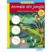 Cum sa desenez - Animale din jungla