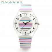 WILLIS Brand Classic Quartz Watch Fashion Women Leisure Watch Waterproof Silicone Strap Wristwatch Girl Clock Watch PENGNATATE
