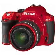 Pentax K-50 kit (DAL 18-55mm WR) (roșu)