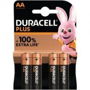 Duracell Plus Power AA Pack de 4 (MN1500B4)