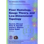 Floer Homology, Gauge Theory, and Low-Dimensional Topology by David Ellwood