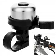 CTSmart bici de la bicicleta de seguridad ultra-Loud Advertencia Bell - Negro + Plata