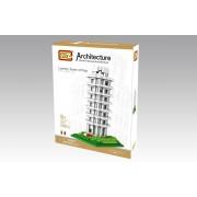 Scheve Toren van Pisa, nanoblocks, vergelijkbaar met mini-lego*,