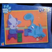 Blues Clues 24 Piece Puzzle Blue And Periwinkle Playing Blocks