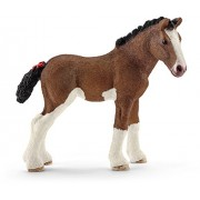 Schleich North America Clydesdale Foal Toy Figure