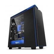 Gabinete NZXT H440 con Ventana, Midi-Tower, ATX/micro-ATX/mini-iTX, USB 3.0, sin Fuente, Negro/Azul