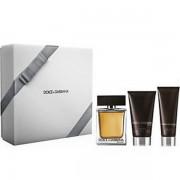 Dolce&Gabbana The One Комплект (EDT 100ml + AS Balm 75ml + SG 50ml) за Мъже