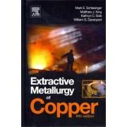 Extractive Metallurgy of Copper by Mark E. Schlesinger