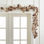 Paper Oak Leaf Garland
