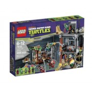 LEGO Teenage Mutant Ninja Turtles Ataque a la Guarida de las Tortugas - juegos de construcción (Dibujos animados, Niño/niña, Multicolor)