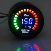 Racetech LED tuning budík do auta pre meranie teploty vody + voltmeter