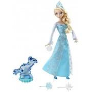 Mattel Frozen Elsa Toverijs Pop 29 Cm Blauw