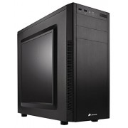 Corsair CC-9011075-WW Case Mid Tower Atx Carbide 100R con Finestra Laterale, Nero