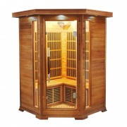 items-france LUXE 2/3 PL - Sauna infrarouge luxe 2/3 places 120x120x190cm