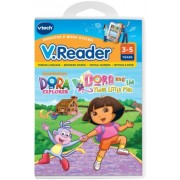 V.Reader Animated E-Book Cartridge - Dora and the Three Little Pigs Children, Kids, Game by Avner-Toys