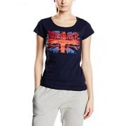 Lonsdale T-Shirt Westham Camiseta de manga corta para mujer, color azul (navy), talla S