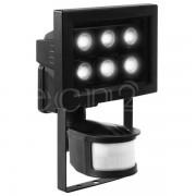 Smartwares Safety LED Strahler mit 6 Power LED und Bewegungsmelder