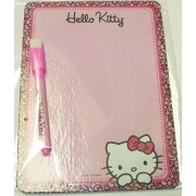 "Hello Kitty Dry Erase Board Set ~ Kitty Peeking (6"" x 8"" with Dry Erase Marker and Eraser)"