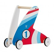 Hape - Racing Stripes Wooden Push and Pull Walker