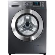 Masina de spalat rufe Samsung WF60F4E5W2X, A++, 1200 Rpm, 6 Kg, Display Digital, Eco Bubble, Eco Drum Clean, Rezistenta Ceramica, Diamond Drum, Argintiu
