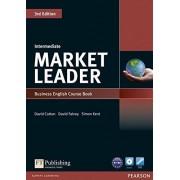 David Cotton Market Leader 3rd Edition Intermediate Coursebook & DVD-ROM Pack