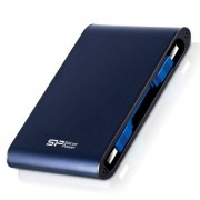 Silicon Power Armor A80 2TB externe HDD blauw USB 3.0 waterproof