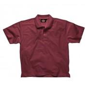 Dickies Polo-Shirt bordeauxrot Gr. XL