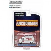 Greenlight Hollywood Series 8 - Anchorman Channel 9 News Team Dodge Van