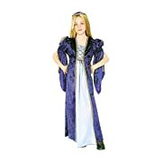 Rubie's Official World Book Day Purple Juliet Girl's Fancy Dress Costume - 5-7 Years