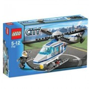 Lego 7741 - City Police : L'hélicoptère De Police