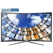 "Televizor LED Samsung 139 cm (55"") UE55M6302, Full HD, Smart TV, Ecran Curbat, WiFi, CI+ + Voucher Cadou 50% Reducere ""Scoici in Sos de Vin"" la Restaurantul Pescarus"