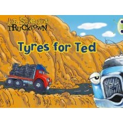 Trucktown, Tyres for Ted: Lilac by Jon Scieszka