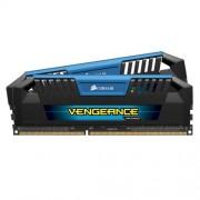 Corsair CMY8GX3M2A1600C9B Vengeance Pro Series Memoria per Desktop a Elevate Prestazioni da 8 GB (2x4 GB), DDR3, 1600 MHz, CL9, con Supporto XMP, Blu