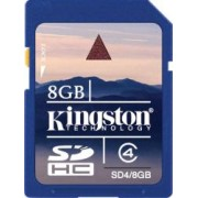 Card de Memorie Kingston SDHC 8GB Class4
