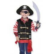 Melissa and Doug verkleedkleding Piraat