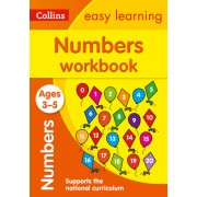 Collins Easy Learning Preschool - Numbers Workbook Ages 3-5: New Edition
