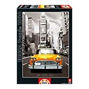 Educa 14468 - Taxi No 1, New York - 1000 pieces - Coloured Black & White Puzzle