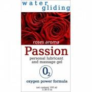 Lubrifiant Water Gliding Passion Trandafiri 100ml