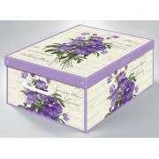 Illatosított színes tároló doboz Collection Midi Violette 661VI