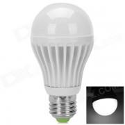 7W 400lm 6500k E27 COB Cool White Light LED Bulb - White