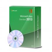 Microsoft Visio 2013 Standard 1 PC inkl. DVD
