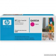 HP 124A Color LaserJet Q6003A Print Cartridge, Magenta (up to 2,000 pages) (Q6003A)