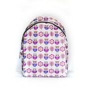 Городской рюкзак SkipShop Medium с совами сиреневый