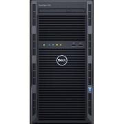 Serveur Dell PowerEdge T130 - Chassis 4x3.5' - E3-1220v6 - 4GB - 1TB - DVDRW - OB LOM DP - Embd SATA - iDRAC8 Basique - Garantie 1 an basique J+1