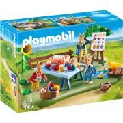 PLAYMOBIL - ATELIERUL DE LUCRU AL IEPURASILOR (PM6863)