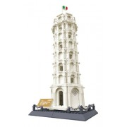 Leaning Tower of Pisa Italy - Building Blocks 1392 pcs set by Huile toys