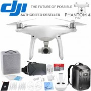 DJI Phantom 4 Pro Quadcopter Drone 3D VR Experience With Back Pack And 2nd Battery
