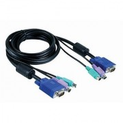 D-Link DKVM-CB3 10ft KVM Cable Male to Male Connector
